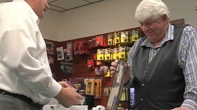 VIDEO: Jerry Aday hopes that whatever gun law passes, it will have an impact on the criminals.