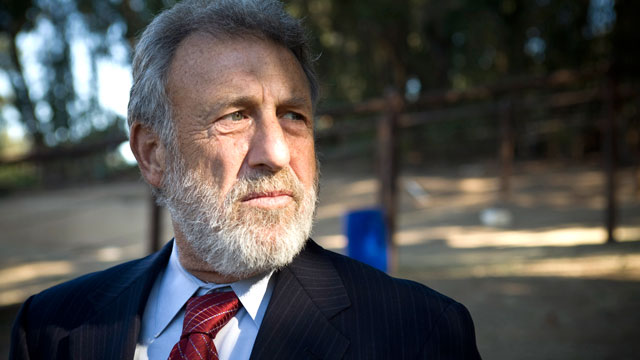 PHOTO: Mens Wearhouse founder George Zimmer photographed at the Oakland Zoo.