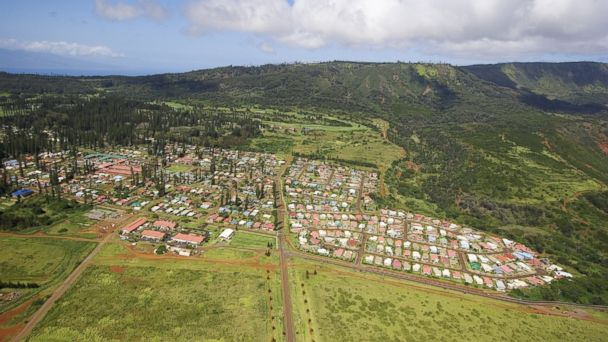 PHOTO: An aerial view of Lanai City, Hawaii, is seen in this undated file photo.