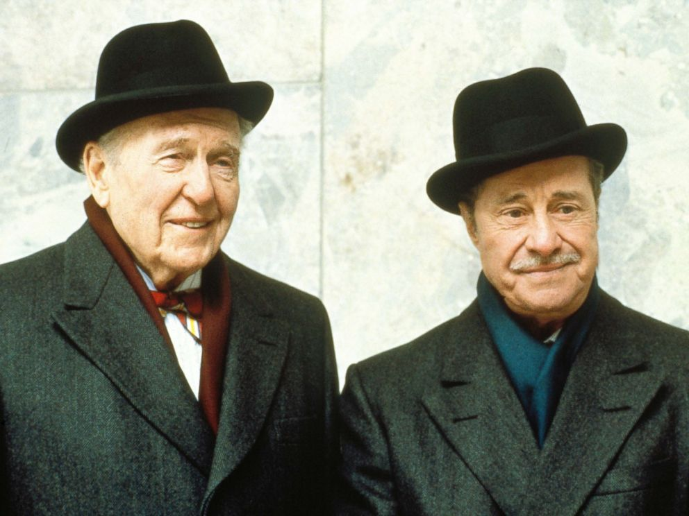 PHOTO: Ralph Bellamy and Don Ameche in the 1984 film, Trading Places.