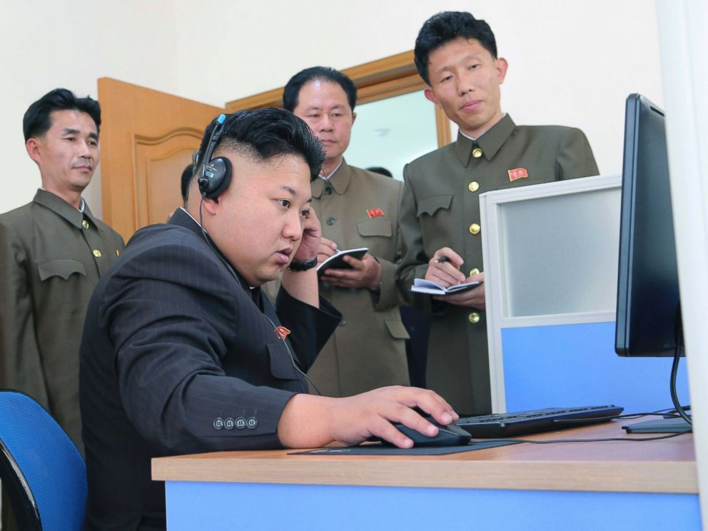 PHOTO: North Korean leader Kim Jong Un gives field guidance to the machine plant managed by Ho Chol Yong in this undated photo released by North Koreas Korean Central News Agency (KCNA) in Pyongyang, May 27, 2014.