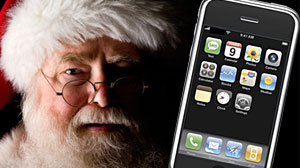 Photo: There is a santa claus, check your iphone