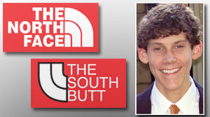 Photo: The North Face vs. The South Butt: Entrepreneurial Teen Not Daunted by Lawsuit Threat: Jimmy Winkelmann Says He Will Not Abandon Company Despite Threats From Retailer
