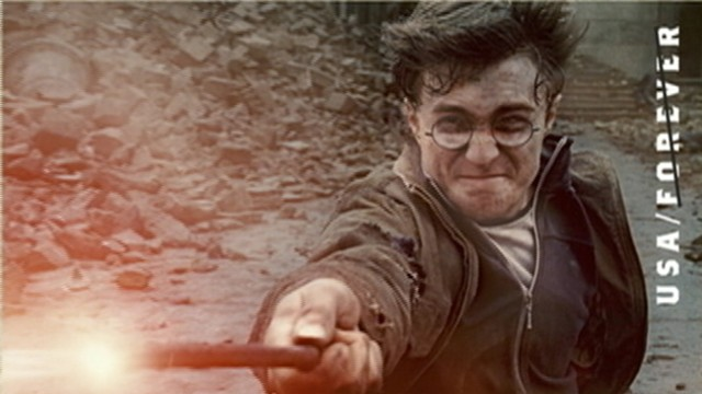 VIDEO: USPS issues stamp series featuring characters from Harry Potter.