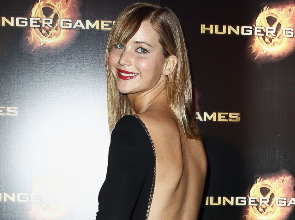 PHOTO: Jennifer Lawrence attends Hunger Games Paris premiere at Cinema Gaumont Marignan on March 15, 2012 in Paris, France.