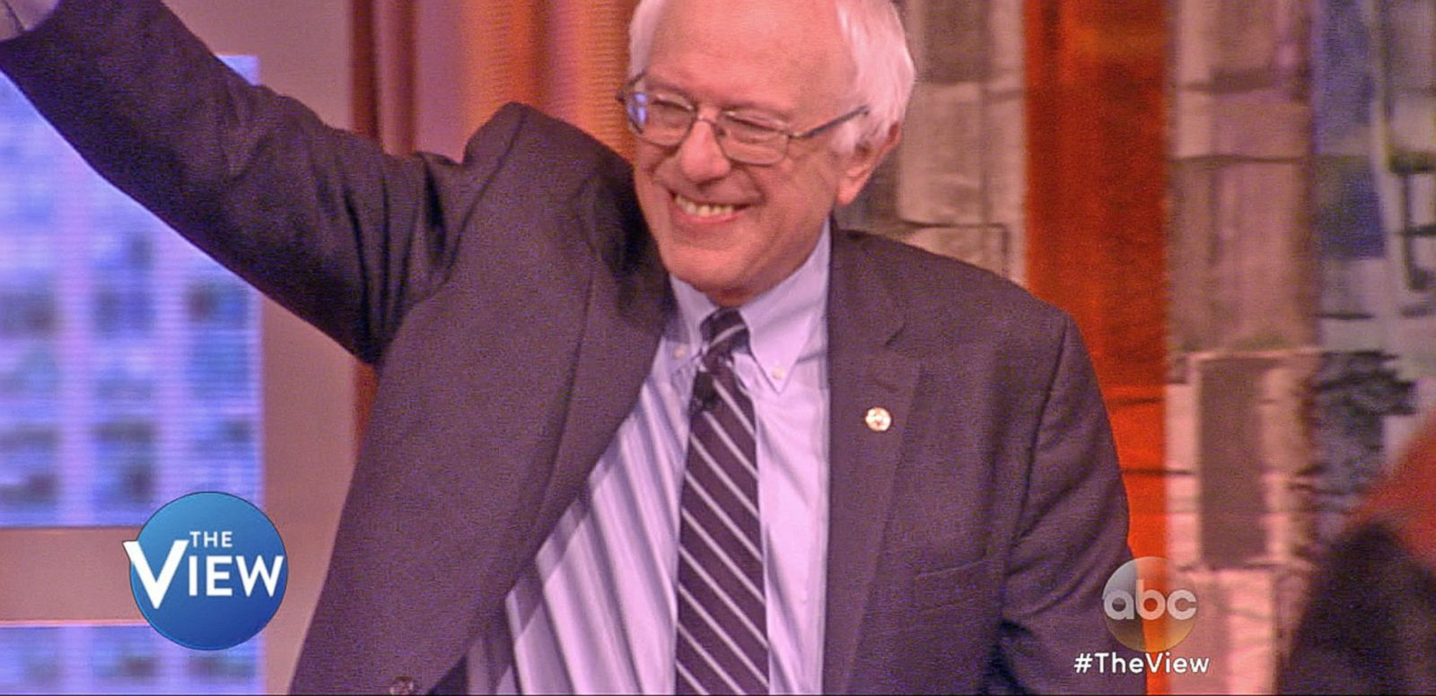 VIDEO: Bernie Sanders Discusses Presidential Politics on 'The View'