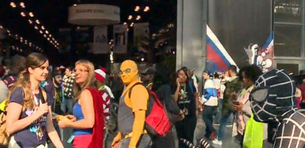 VIDEO: Up close with the panels, costumes and excited fans.