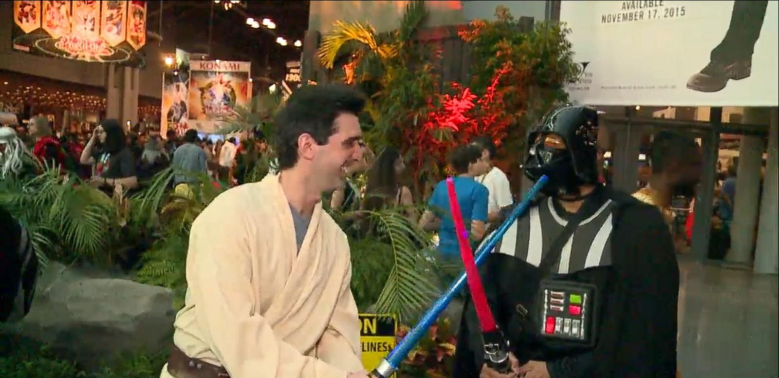VIDEO: New York Comic Con 2015.