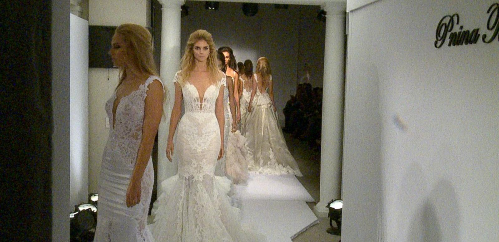 GOSTREAM: Pnina Tornai Premieres New Collection During Bridal Fashion Week