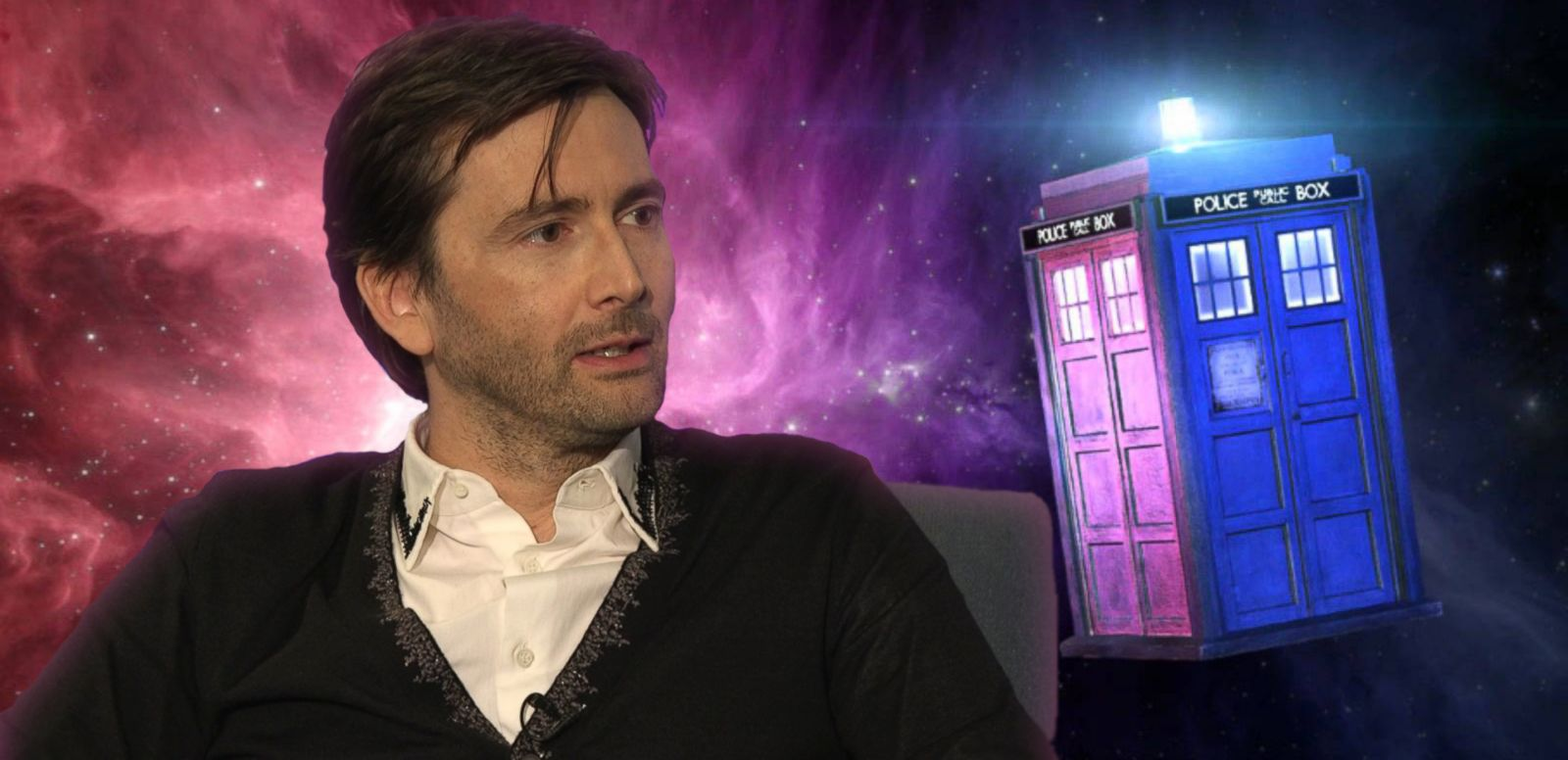 VIDEO: Where Would David Tennant Go if He Had a Real Tardis?