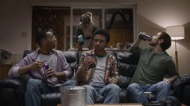 VIDEO: Super Bowl Ad: With Mountain Dew, A Puppy, Monkey and Baby Collide