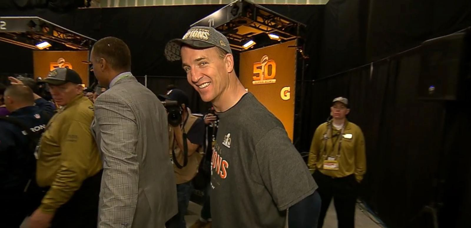 VIDEO: Peyton Manning 'Going to Disneyland'