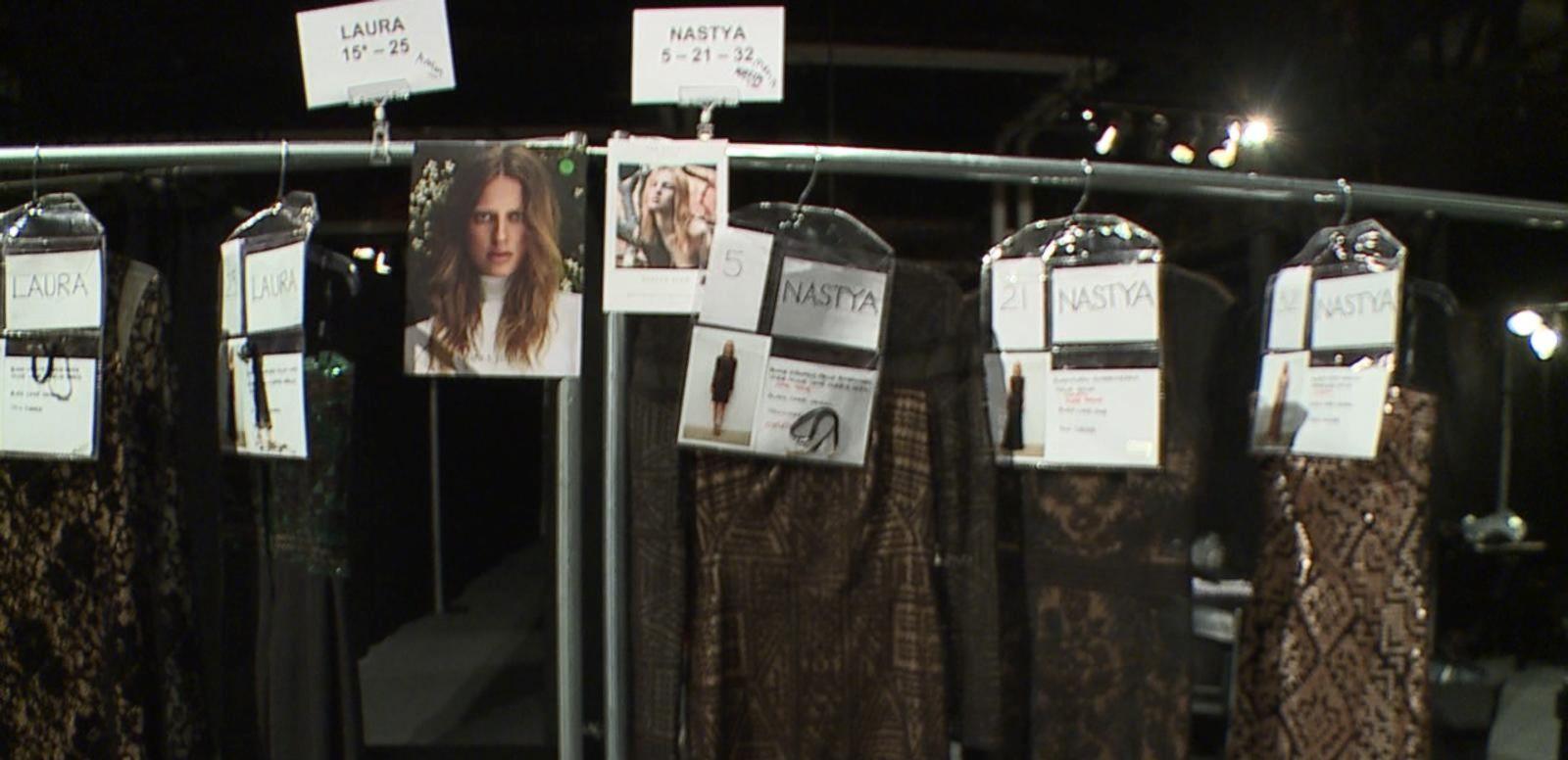 VIDEO: Backstage at Tadashi Shoji