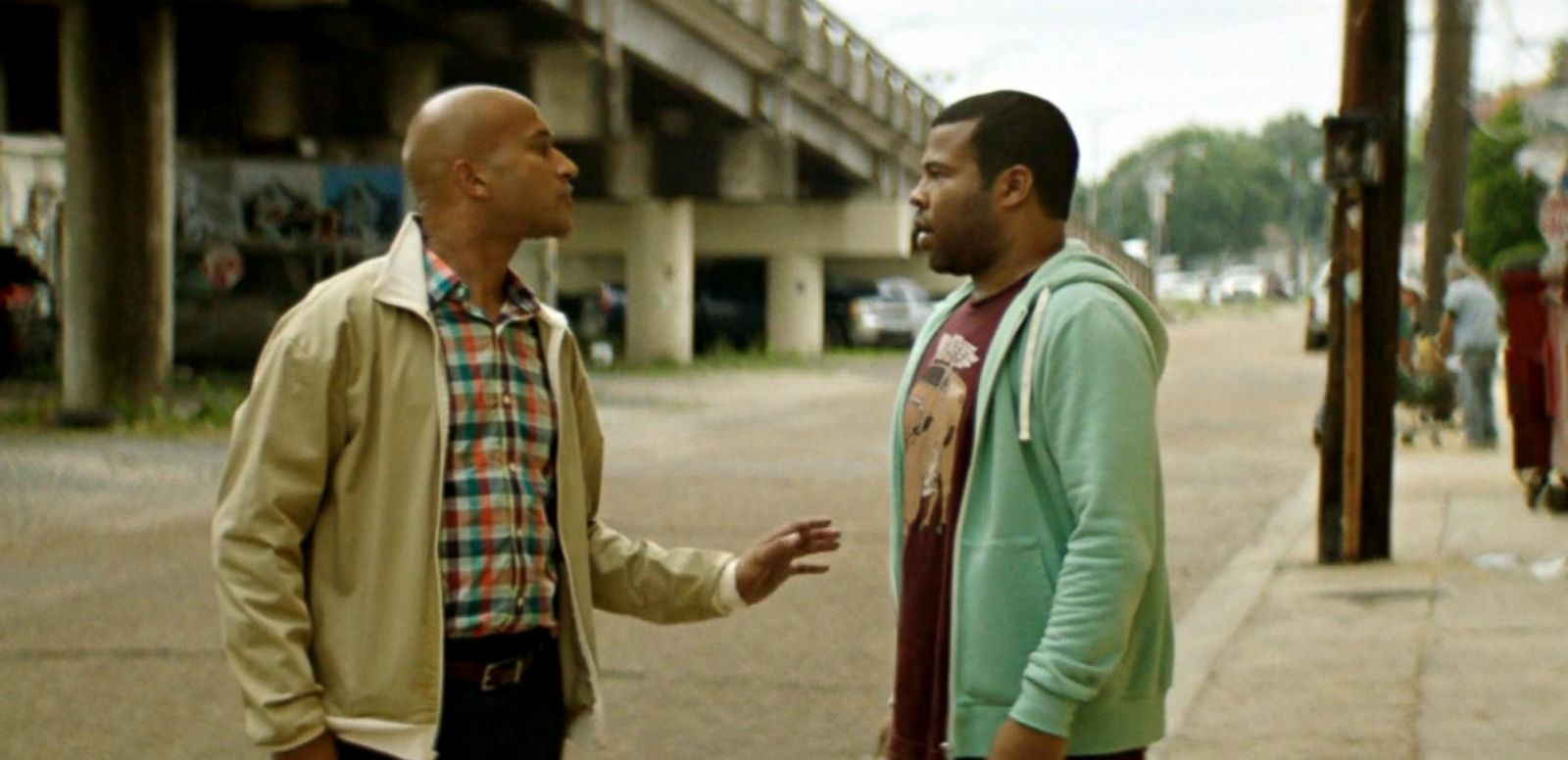 Comedy duo Key and Peele play two cousins who are on the hunt for a kitten that's been catnapped.