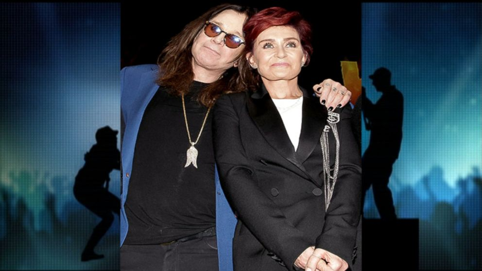 Sharon and Ozzy Osbourne Reunite for Work Video - ABC News