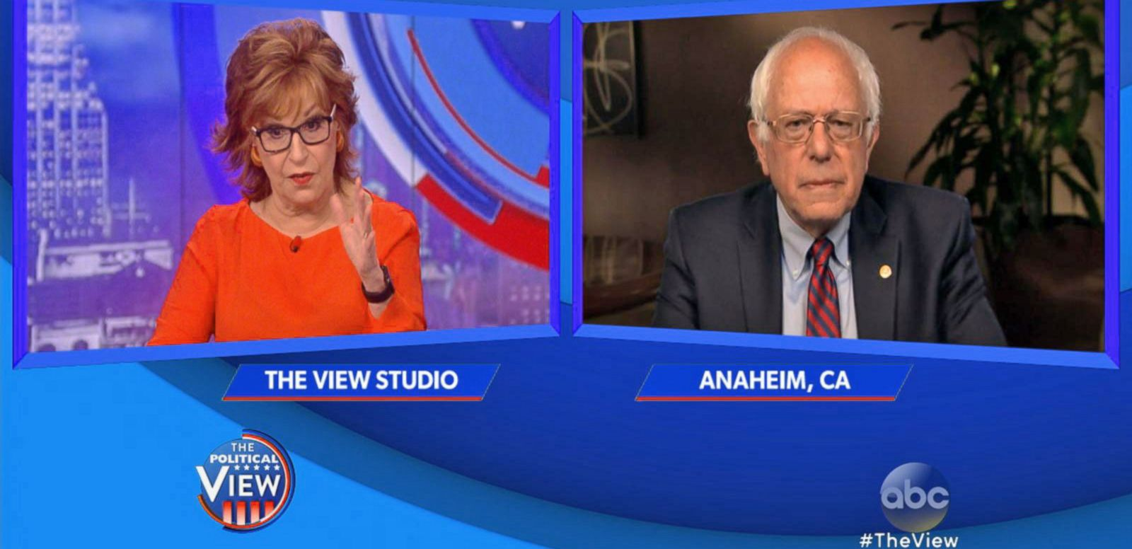 VIDEO: Bernie Sanders Answers Joy Behar Questions About Clinton Attacks