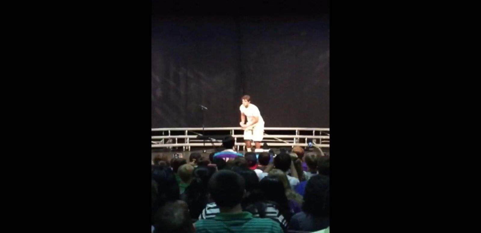 VIDEO: Teen's Water Bottle Flip at High School Talent Show Explodes on Internet