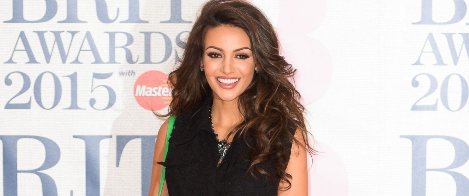 PHOTO: Michelle Keegan attends the BRIT Awards 2015 at The O2 Arena, February 25, 2015 in London.