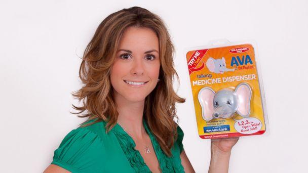 "PHOTO: Tiffany Krumins pitched her product, AVA the Elephant, on ABCs ""Shark Tank."""