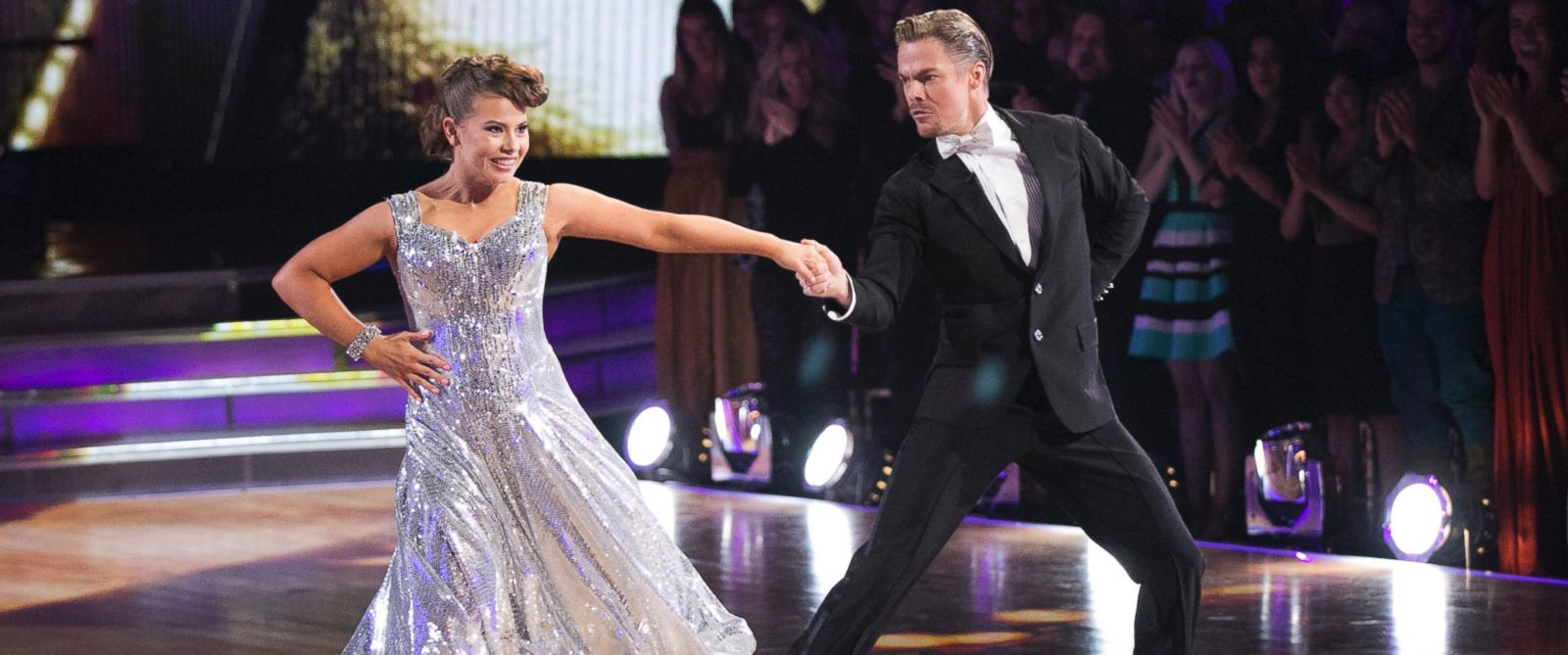 "PHOTO:Bindi Irwin and Derek Hough are seen on ""Dancing with the Stars,"" Nov. 23, 2015."
