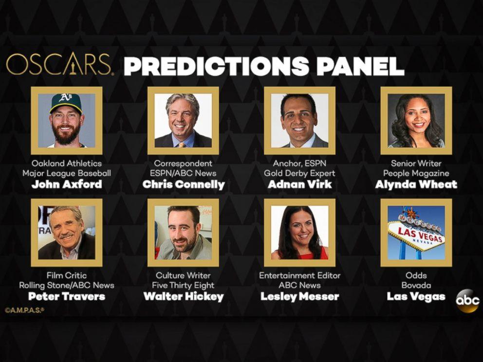 PHOTO: The Oscar Predictions Panel for 2016.