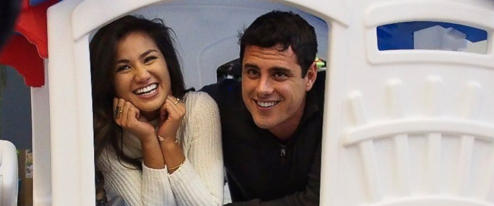 PHOTO: Bachelor Ben Higgins, right, and contestant Caila.