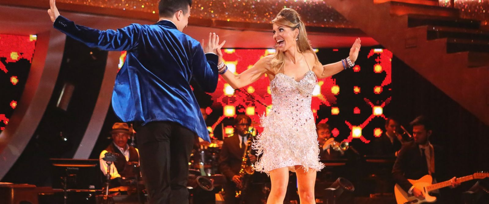 "PHOTO: Mark Ballas and Candace Cameron Bure dance on ""Dancing with the Stars,"" March 31, 2014."