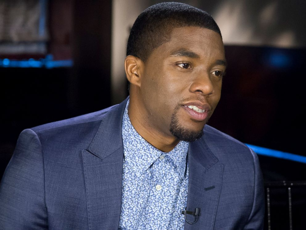 PHOTO: Actor Chadwick Boseman sits down with Nightline to talk about playing James Brown in the new biopic, Get On Up.