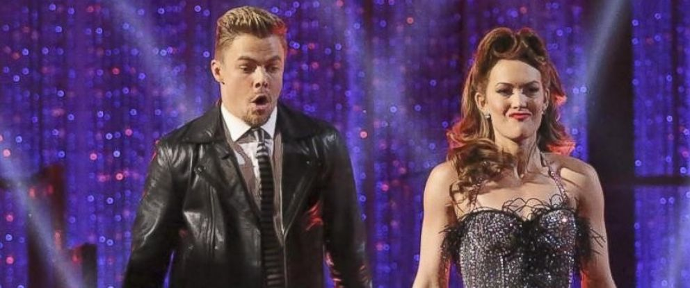 "PHOTO: Derek hough and Amy Purdy perform on ""Dancing WIth the Stars,"" March 25, 2014."