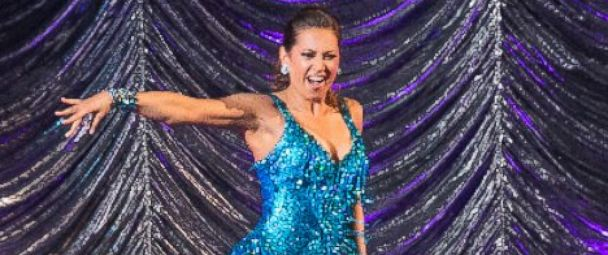 """PHOTO: Ginger Zee competes on """"Dancing With The Stars."""""""