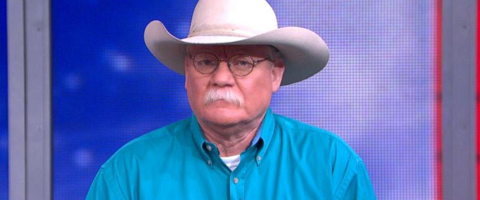 """PHOTO: California Chrome owner Steve Coburn on """"Good Morning America,"""" June 9, 2014."""