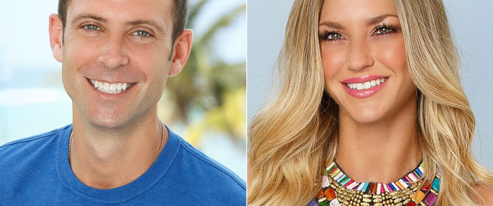 """PHOTO: Graham Bunn and AshLee Frazier from """"Bachelor in Paradise."""""""