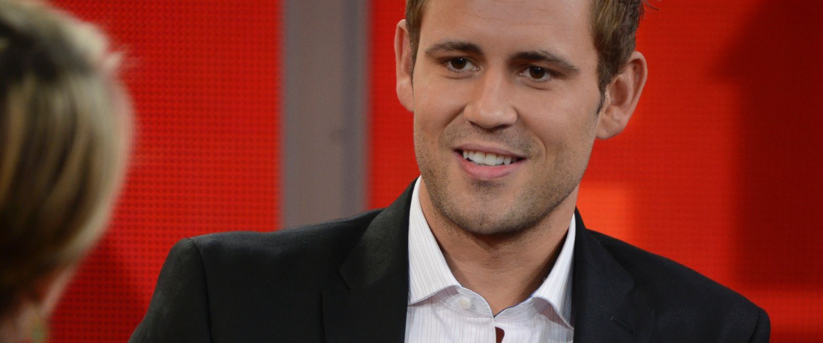PHOTO: Nick Viall of The Bachelorette on Good Morning America, July 31, 2014.