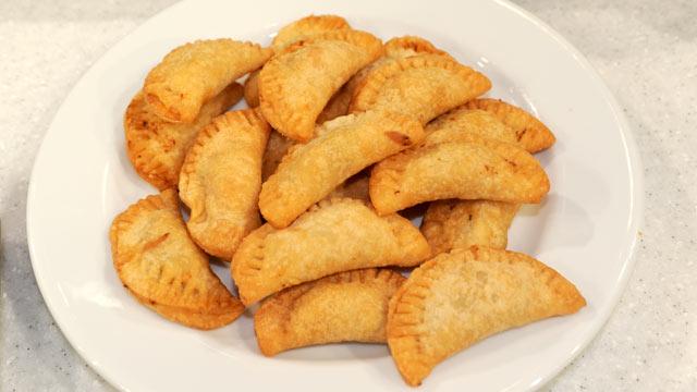 PHOTO: Clinton Kelly's mini pot pie recipe is shown here.