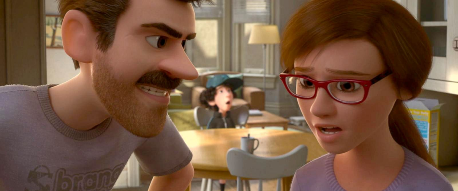 PHOTO: Heres an exclusive sneak peek at Disney-Pixars new animated short film, Rileys First Date.
