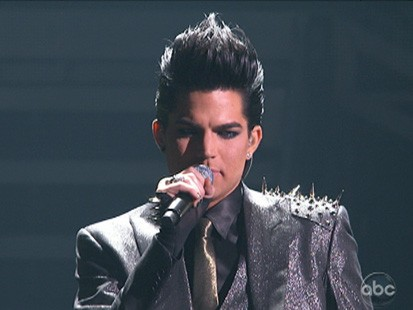VIDEO: Adam Lambert talks to Ryan Seacrest about his AMA performance.