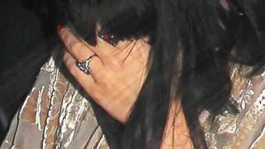 PHOTO: Katy Perry joined her partner John Mayer for a low-key dinner date at Crossroads Restaurant in Los Angeles on Feb. 16, 2014.