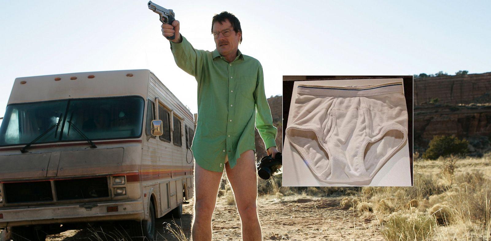 PHOTO: wlater white, breaking bad, underwear