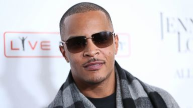 PHOTO: In this Jan. 20, 2016, file photo, T.I. arrives at the grand opening of Jennifer Lopez: All I Have show at Planet Hollywood Resort & Casino in Las Vegas.