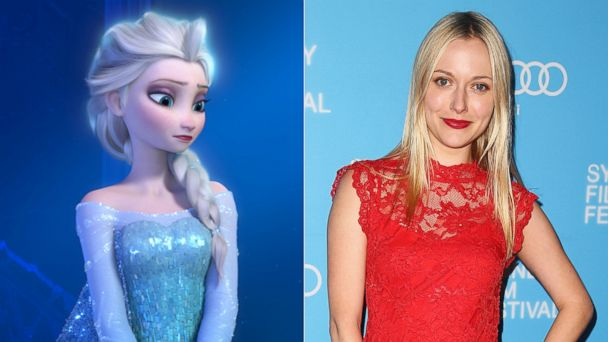 "PHOTO: Elsa the Snow Queen, voiced by Idina Menzel, in a scene from the animated feature ""Frozen."" 