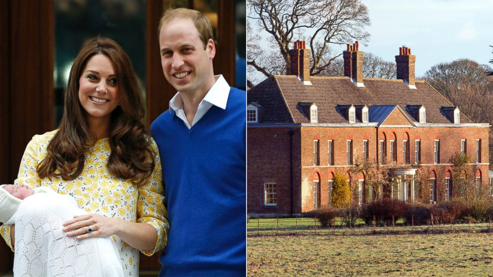 Prince William Kate Leave Kensington Palace For Anmer