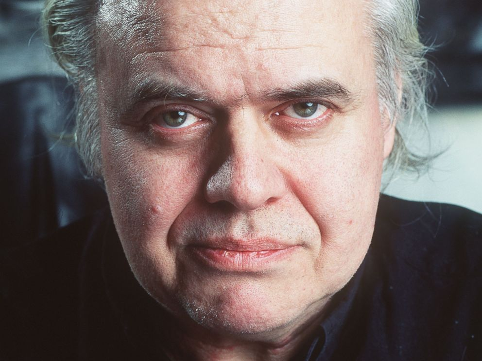 PHOTO: In this 1995 file picture Swiss artist H.R. Giger is photographed at his house in Zurich, Switzerland.