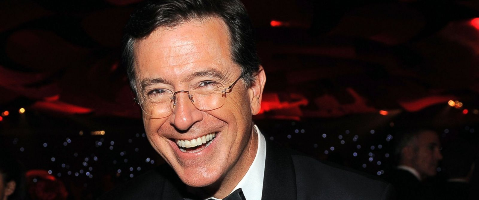 PHOTO: This Sept. 23, 2012 file photo shows TV personality Stephen Colbert at the 64th Primetime Emmy Awards Governors Ball in Los Angeles.