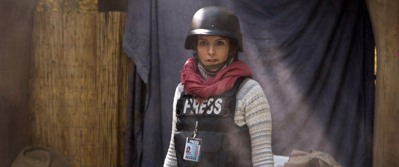"""PHOTO: Tina Fey portrays Kim Baker in a scene from """"Whiskey Tango Foxtrot."""""""