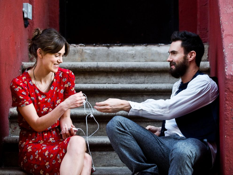 PHOTO: From left, Keira Knightley and Adam Levine in a scene from Begin Again.