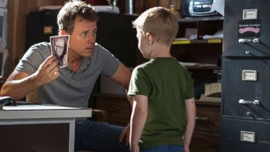 """PHOTO: From left, Greg Kinnear and Connor Corum in a scene from """"Heaven Is For Real."""""""
