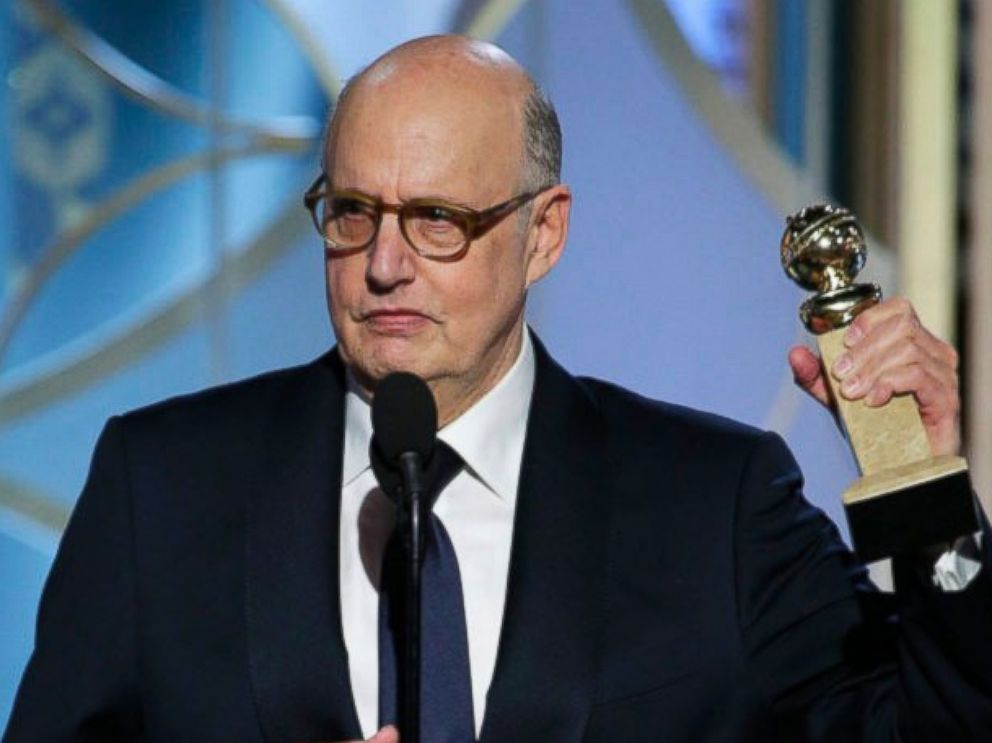 PHOTO: Jeffrey Tambor accepts the award for best actor in a TV series, comedy or musical for his role in Transparent, at the 72nd Annual Golden Globe Awards, Jan. 11, 2015, at the Beverly Hilton Hotel in Beverly Hills, Calif.
