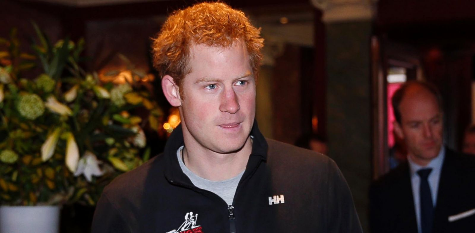 PHOTO: Prince Harry arrives for a welcome home news conference, Jan. 21, 2014, in central London.