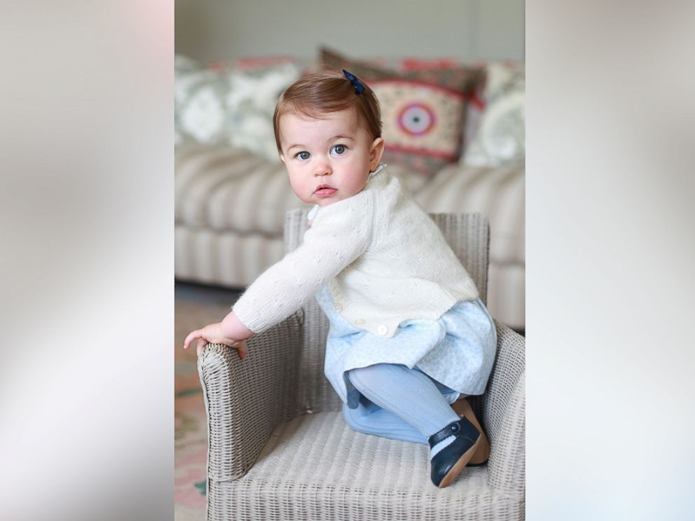 PHOTO: Princess Charlotte poses for a photograph at Anmer Hall, in Norfolk, England, in this undated photo released May 1, 2016 by Kensington Palace. The princess will celebrate her first birthday on Monday.