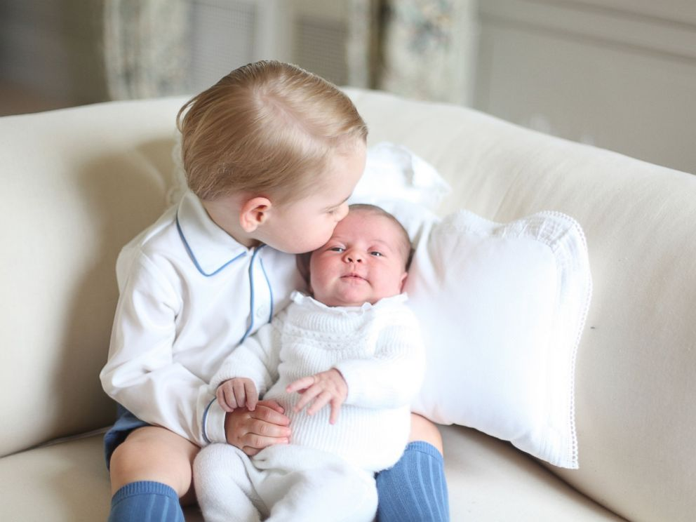 PHOTO: Undated handout photo released by the Duke and Duchess of Cambridge of Prince George and Princess Charlotte. The photograph was taken by the Duchess in mid-May at Anmer Hall in Norfolk, U.K.